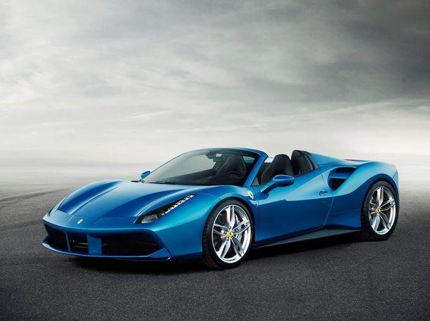 Uusi avo-Ferrari sulkee tai avaa taittuvan kovakattonsa 14 sekunnissa.