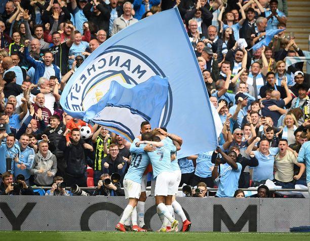 Manchester City voitti kaiken mahdollisen englantilaisilla futiskentillä.