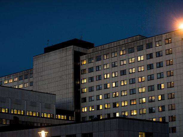 Tampereen yliopistollinen sairaala. Kuvituskuva.