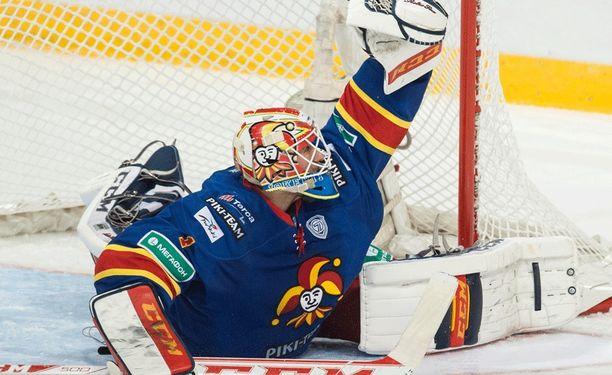 Henrik Karlssonin torjunnat eivät välittyneet suomalaiskatsojille kirkkaasti.