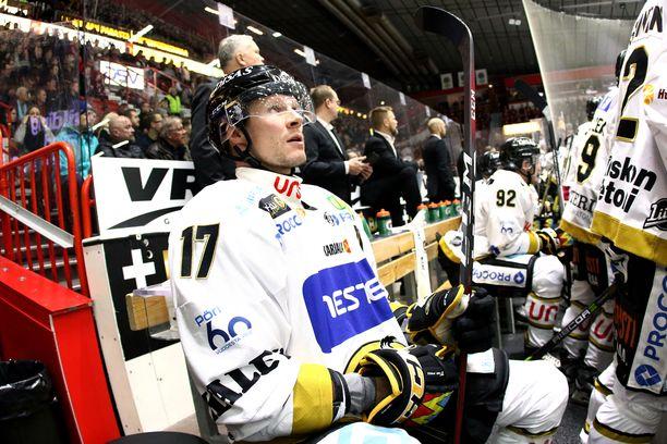 Mika Pyörälä ei pelaa enää tällä kaudella.