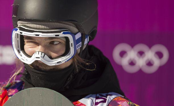 Roope Tonterin mielessä siintää olympiamitali.