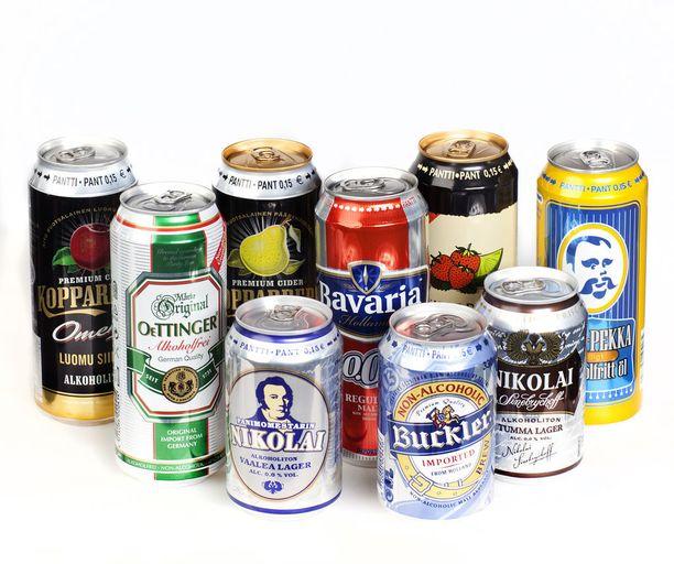 Alkoholittomat tuotteet ovat tämän vuoden suurin ilmiö ruokakaupan oluthyllyllä.