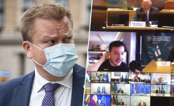 Toimittaja hakkeroi itsenä EU:n salaiseen kokoukseen, johon puolustusministeri Antti Kaikkonen osallistui.