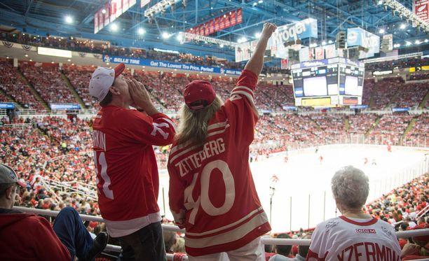 Detroit Red Wingsin varaus herätti faneissa hilpeyttä.