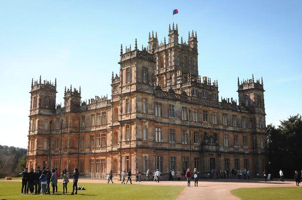 Highclere Castlessa järjestetään Downton Abbey -teemainen konsertti.