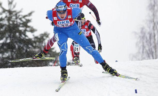 Hannu Mannista ei nähdä tänään yhdistetyn kilpailussa Lahdessa.
