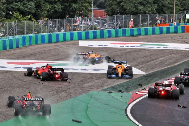 Unkarin GP:n alku oli hyvin sekava.