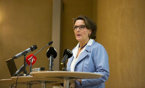 Liikenne- ja viestintäministeri Anne Bernerin mukaan liikenneverkkoselvitystä käsiteltiin lyhyesti hallituksen strategiakokouksessa.