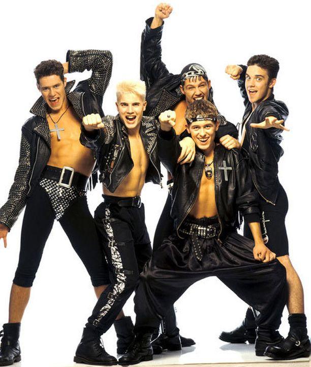 Take That -yhtye sen kulta-aikoina.