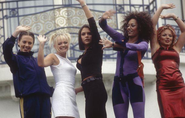 Tällaista oli meno Spice Girlsissä.