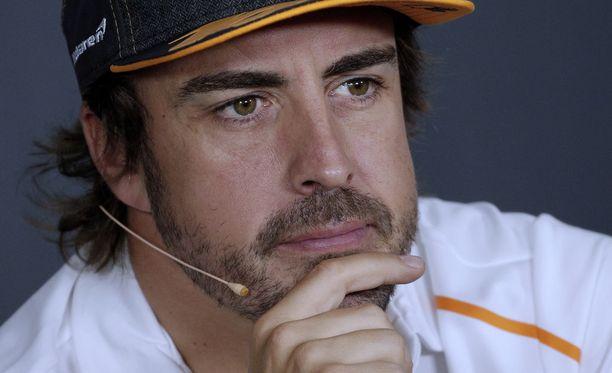 Fernando Alonsolla ei ole ollut syytä hymyyn formuloissa viime aikoina.