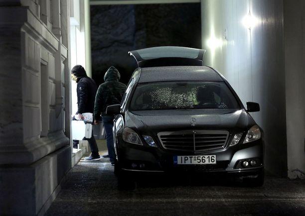 Kreikan poliisi tutki tammikuussa Venäjän konsulin Andrei Malaninin yllättävää kuolemaa Ateenassa.