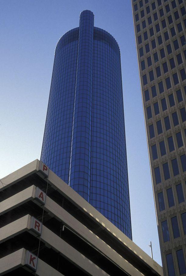 Hotellin The Westin Peachtree Plaza Hotel ylimmässä kerroksessa on pyörivä näköalaravintola, jossa tapahtui tällä viikolla kuolemaan johtanut onnettomuus.