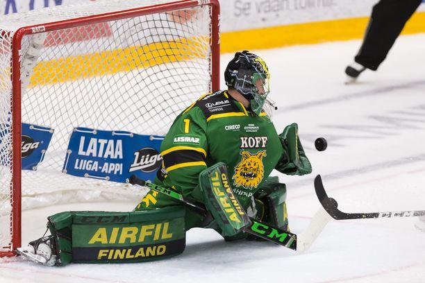 Ilveksen Lukas Dostal loisti sarja-avauksessa perjantaina Tampereella SaiPaa vastaan.
