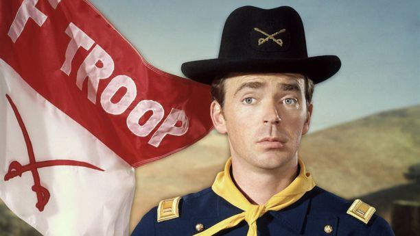 Ken Berry näytteli satiirisessa F-Troopissa kapteeni Wilton Parmenteria.