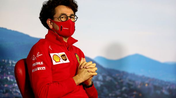 Mattia Binotto selitti Ferrarin epäonnistumisen taustoja.