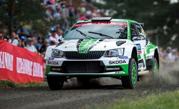 Kalle Rovanperä dominoi WRC2-luokkaa näytöstyyliin.