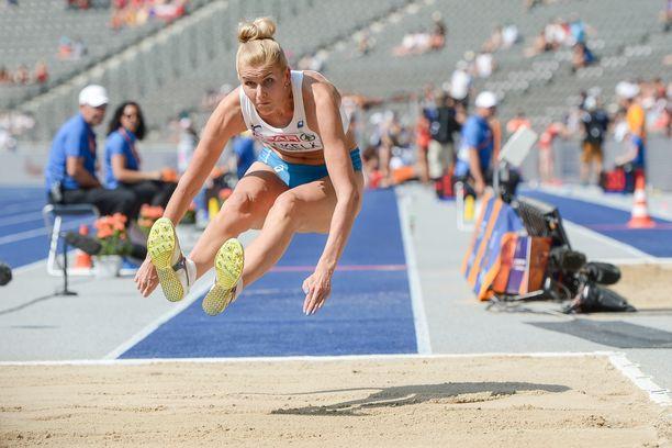 Kristiina Mäkelä oli yhdeksäs viime kesän EM-kisoissa.