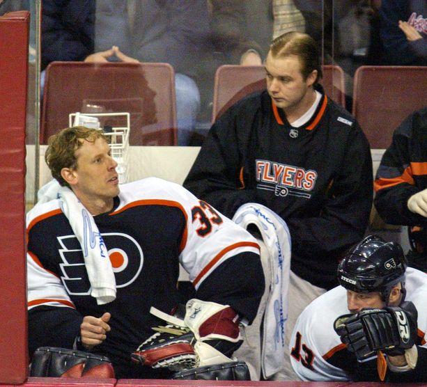 Sean Burke Flyersissa vuonna 2004.