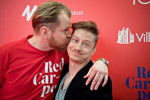 Antti Luusuaniemi on ikuisesti kiitollinen ystävälleen Kari Ketoselle siitä, että tämä lupautui Red Carpet -festareille töihin. Ketosen ideasampo tuottaa jatkuvasti tulosta.