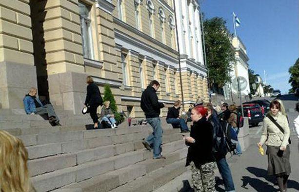 Helsingin yliopiston avajaisia vietettiin maanantaina.