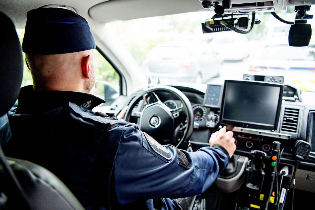20180710 Helsinki, Poliisi aiheista kuvituskuvaa,  KUVA: JENNI GÄSTGIVAR/IL