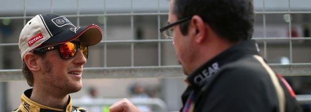 Romain Grosjean (vas.) kertoi ranskalaismedialle enemmän kuin F1-koodisto salli.