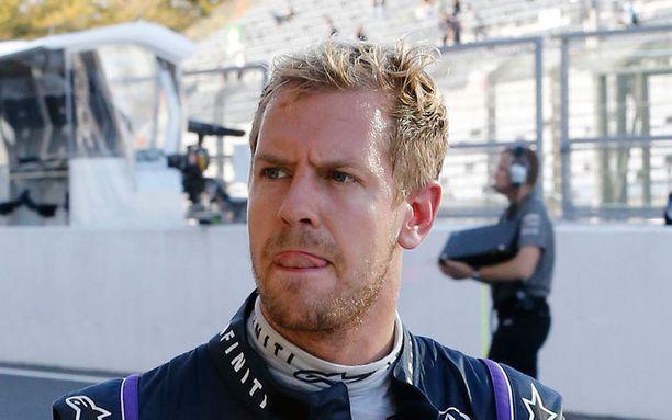 Sebastian Vettel Suzukassa.
