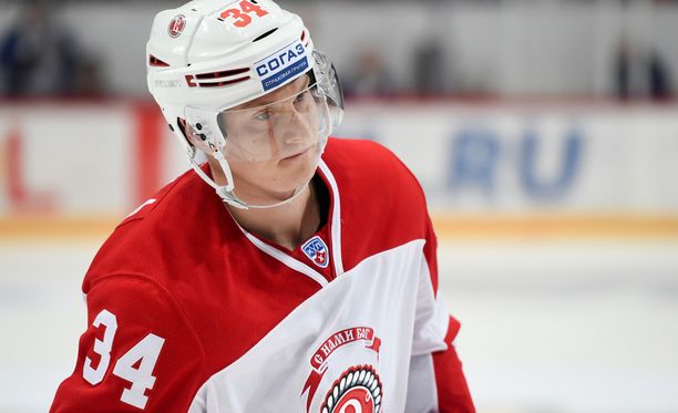 Olli Palola on tehnyt yhdeksässä KHL-ottelussa yhteensä vain yhden maalin.