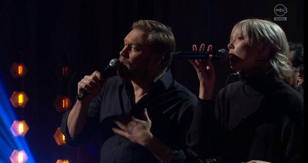 Samuli ja Venla ovat aiemminkin esiintyneet yhdessä.