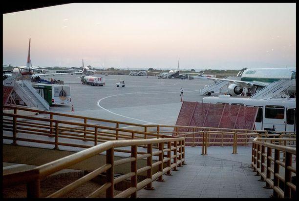 Rodoksen lentokenttä. Arkistokuva.