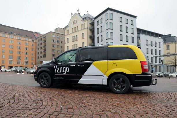 Marraskuusta alkaen Helsingissä voi törmätä Yango-takseihin.