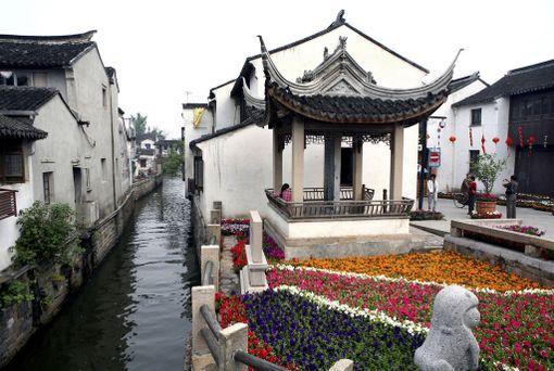 Suzhoun vanha keskusta on Unescon maailmanperintöluettelossa.