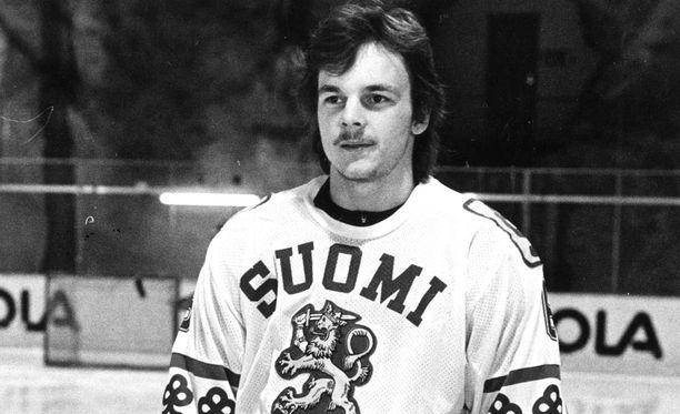Arto Ruotanen oli 1980- ja 1990-luvuilla vakiokasvo MM-joukkueessa.