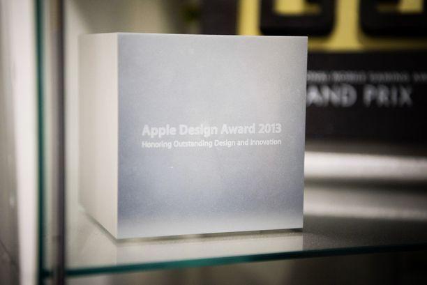 Vuonna 2013 Frogmindille myönnetty Apple Design Award.