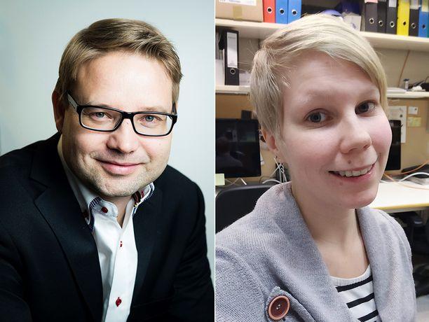Kysymyksiin vastasivat Helsingin yliopiston molekyyligenetiikan professori Hannes Lohi sekä hänen tutkimusryhmäänsä kuuluva käyttäytymisekologi Milla Salonen.