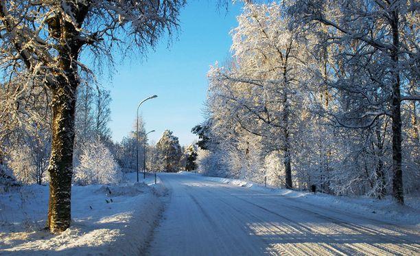 Tavallisesti vuosi vaihtuu talvisessa pakkassäässä.
