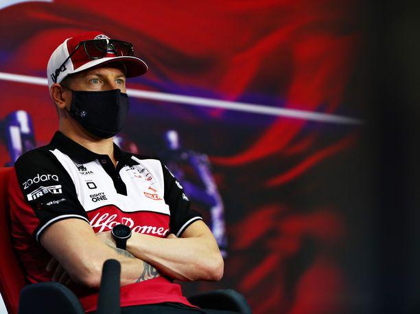 Kimi Räikkösen, 41, on F1-sarjan vanhin kuljettaja tällä kaudella.