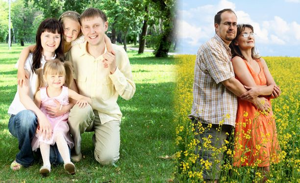 Perheellisillä on tutkimuksen mukaan taipumus olla tyytyväisempiä elämäänsä kuin henkilöillä, joiden kotona ei lapsia ollut. Mutta kun muut tyytyväisyyteen vaikuttavat tekijät, kuten tulot, terveys ja uskonnollisuus otetaan huomioon, ero hävisi kokonaan.