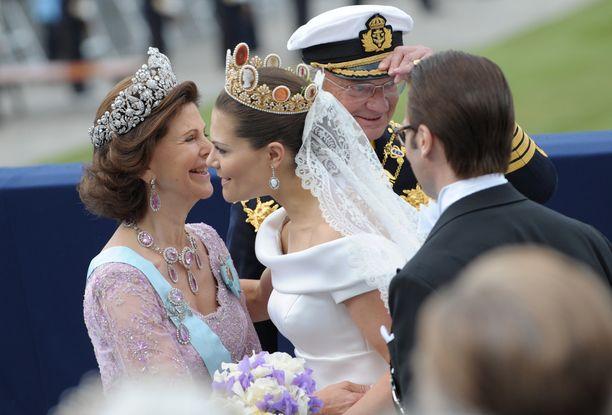 Kruununprinsessa Victorian häät saivat vanhemmat nauramaan.