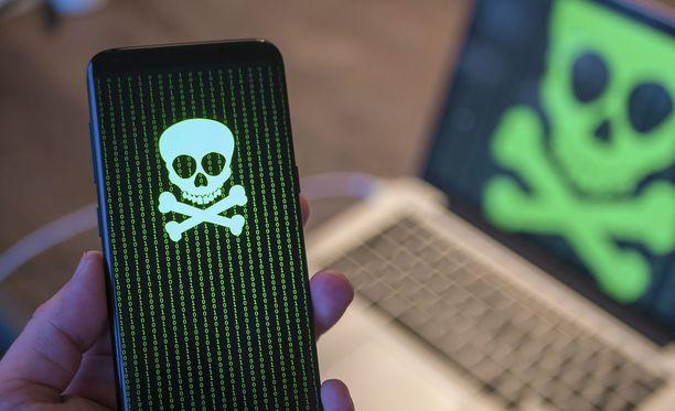 Androidille löytyi sovelluksia, jotka urkkivat käyttäjän yksityistietoja. Kuvituskuva.