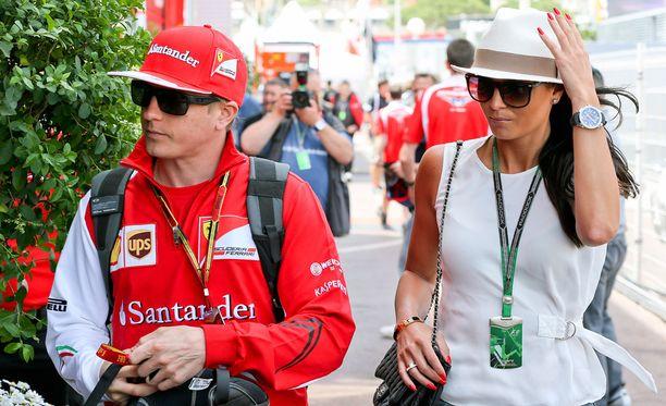 Kimi ja Minttu kuvattiin Monacossa vuonna 2014.