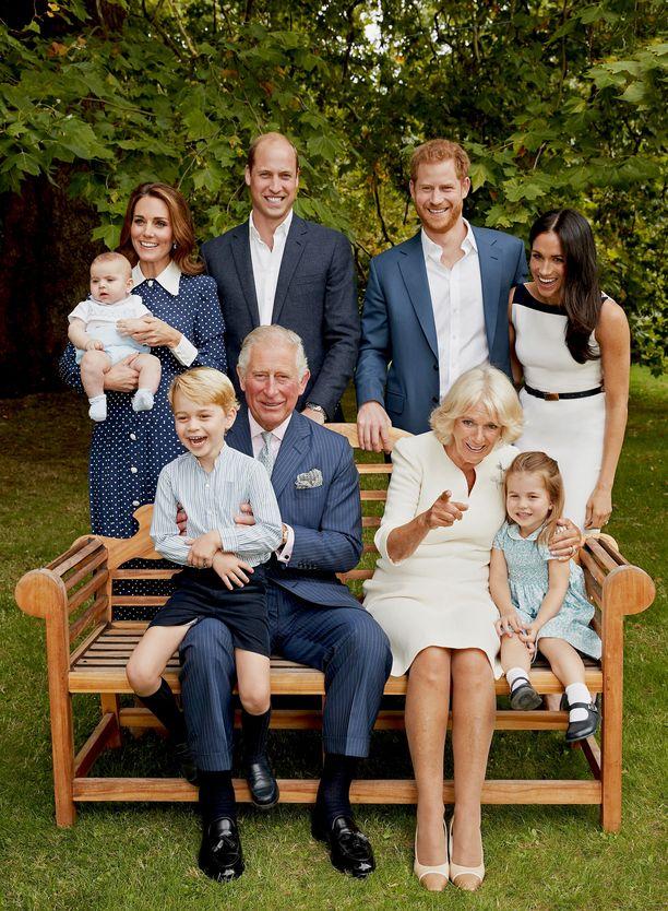 Prinssi Charlesista tulee neljättä kertaa isoisä ensi keväänä.