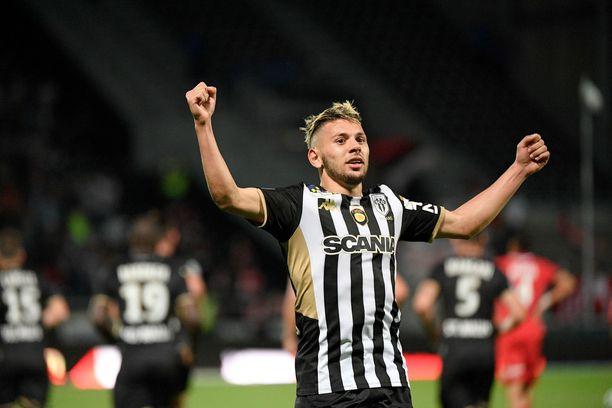 Farid el Melali pelaa ranskalaisen SCO Angersin riveissä.