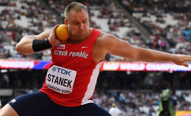 Tomas Stanek jäi kuulafinaalissa neljänneksi, vaikka tv-kuvien perusteella miehen olisi pitänyt taistella voitosta.