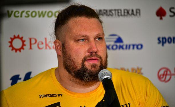 Mika Törrö teki Suomen ennätyksen.
