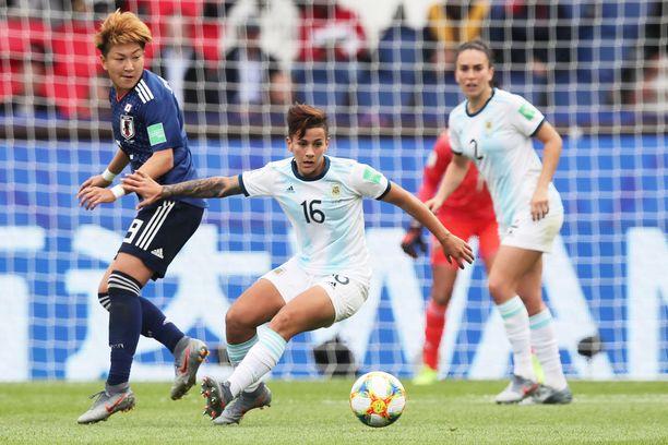 Edellisessä pelissään Argentiina jätti Japanin nollille.