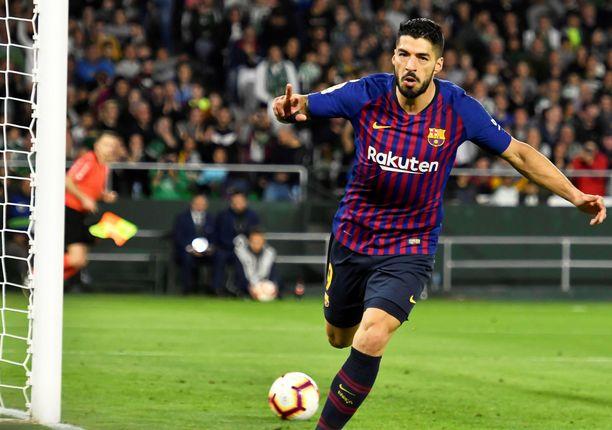 Luis Suárezia rakastetaan sekä Barcelonassa että Liverpoolissa.