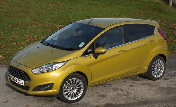 Vuoden 2013 Ford Fiesta Econetic